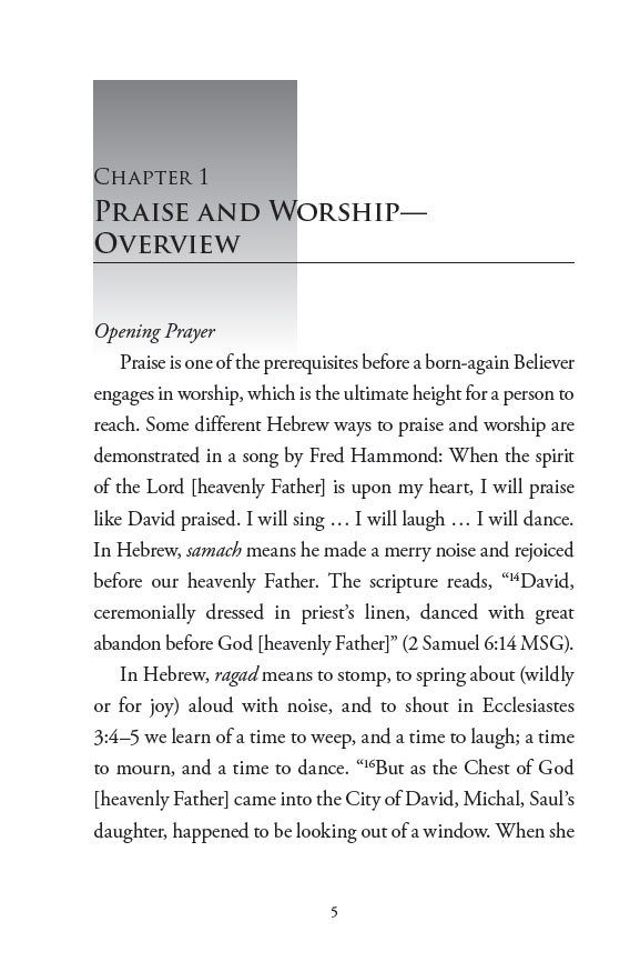 Praise and Worship: Heaven's Street Address; Page 5